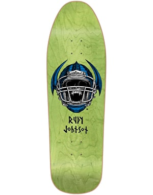 Blind Johnson Jock Skull HT Reissue Skateboard Deck - 9.875