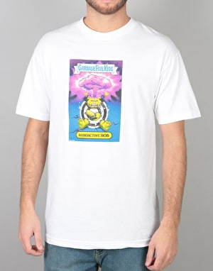 Santa Cruz x Garbage Pail Kids Radioactive Rob T-Shirt - White