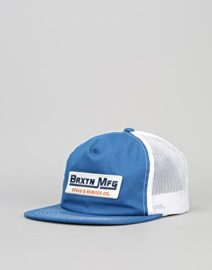 Brixton Traction HP Mesh Cap - Royal/White