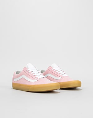Vans Old Skool Womens Trainers - (Double Light Gum) Chalk Pink