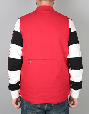 HUF Kilo Whisky Vest - Red