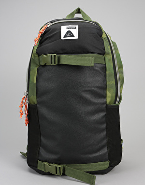 Poler Transport Backpack - Green Furry Camo