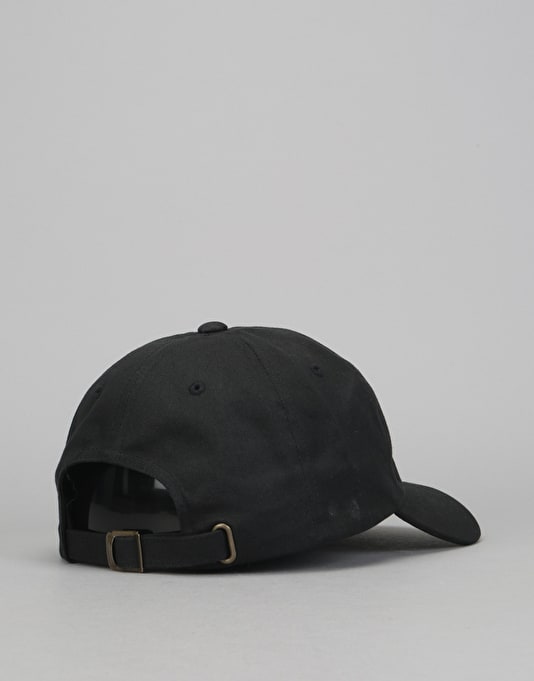 Route One Embroidered Logo Dad Cap - Black