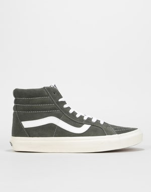 Vans Sk8-Hi Reissue Skate Shoes - (Retro Sport) Gunmetal Grey