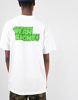 Girl Yeah Right! T-Shirt - White