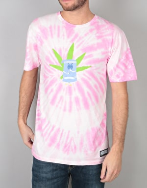 HUF x South Park Towelie Tie Dye T-Shirt - Pink