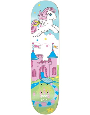 Enjoi x My Little Pony Rojo Cool World Pro Deck - 7.75