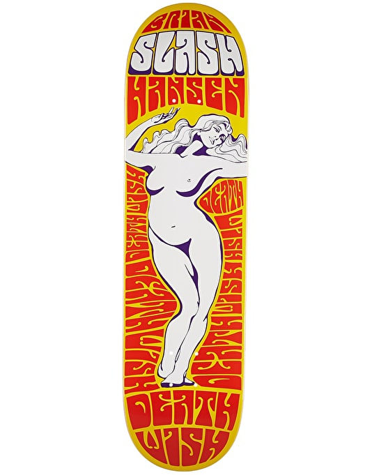 Deathwish Slash Lady of the Night Skateboard Deck - 8.125""