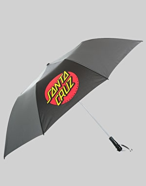 Santa Cruz Classic Dot Umbrella - Black