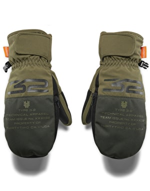 ThirtyTwo Corp 2019 Snowboard Mitts - Olive