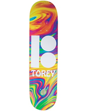 Plan B Pudwill Wavy BLK ICE Pro Deck - 8.125