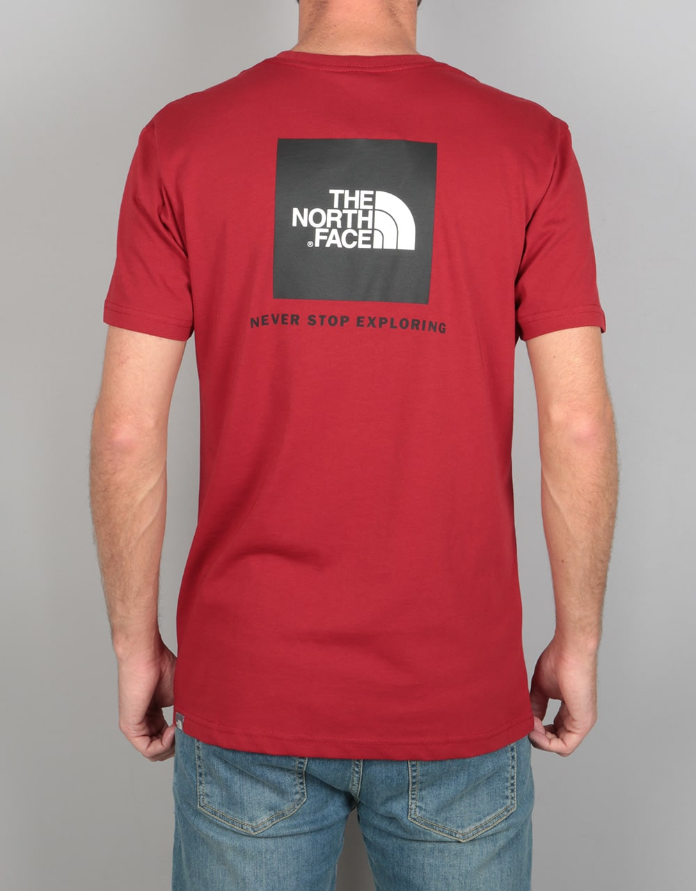 The North Face SS Red Box T Shirt Cardinal Red