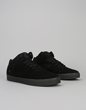 Emerica The Hsu G6 Skate Shoe - Black/Dark Grey