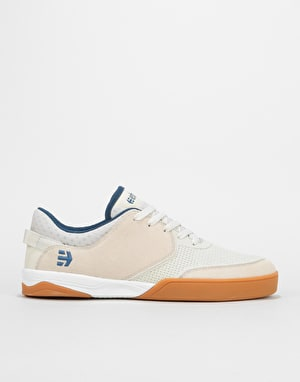 Etnies Helix Skate Shoes - White/Navy/Gum
