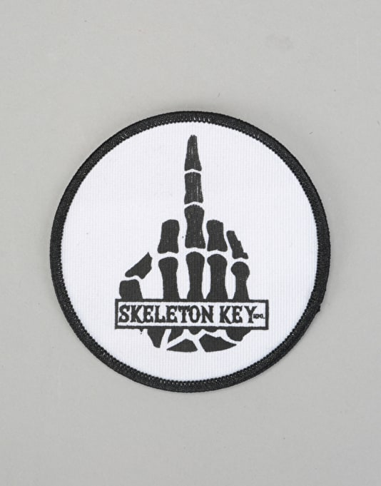 Skeleton Key Middle Finger Patch