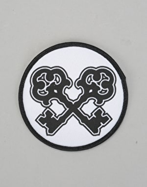 Skeleton Key Cross Keys Patch