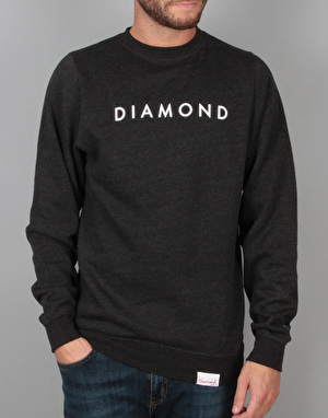 Diamond Supply Co. Futura Crewneck - Grey Heather