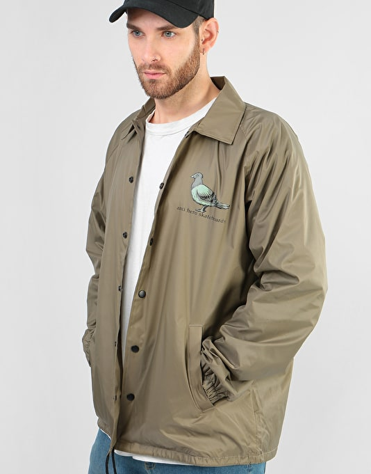 Anti Hero Pigeon Coaches Jacket - Khaki