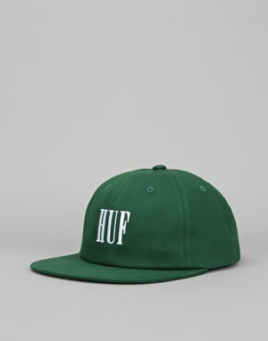 HUF Makia 6 Panel Cap - Green