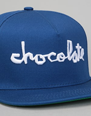 Chocolate Chunk Snapback Cap - Navy