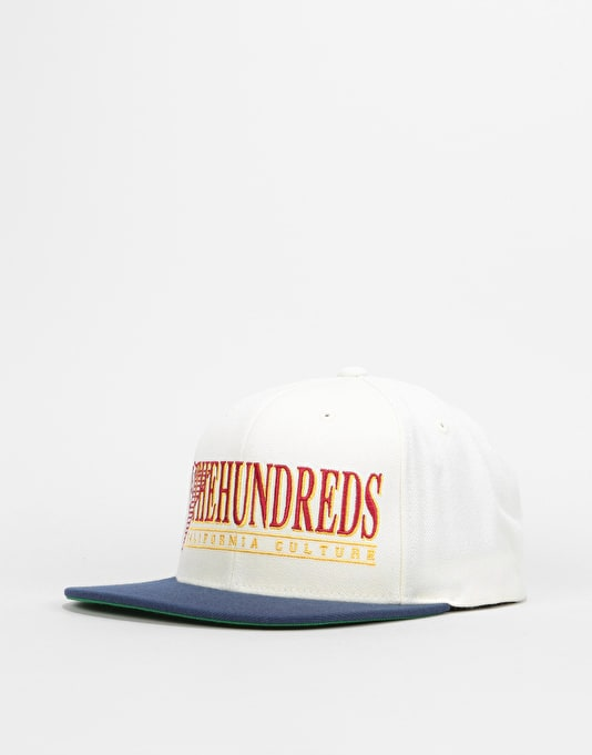 The Hundreds Decades Snapback Cap - Off White