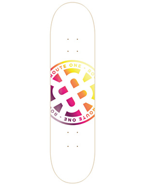Route One Stamp Logo Skateboard Deck - 8