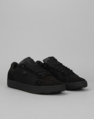 DC Astor Skate Shoes - Black/Black/Black