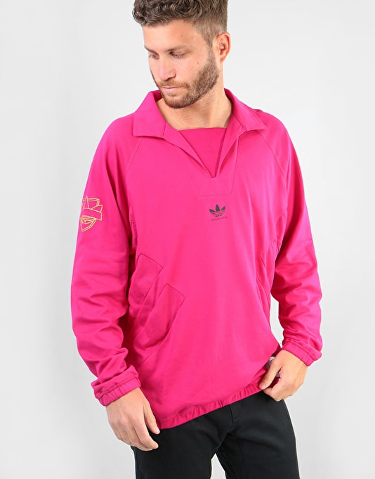 Adidas Blondey (Bulgaria) L/S Jersey - Bold Pink
