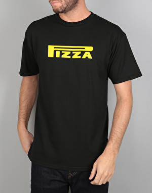 Pizza Pepperelli T-Shirt - Black