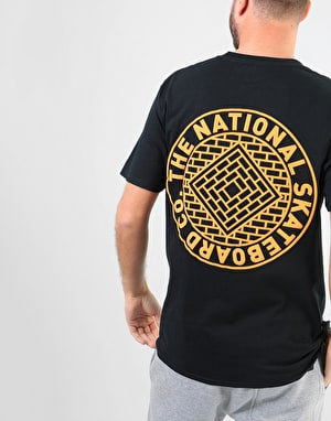 The National Skateboard Co. Classic T-Shirt - Black