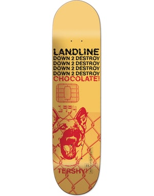 Chocolate Tershy Darkside Pro Deck - 8.5