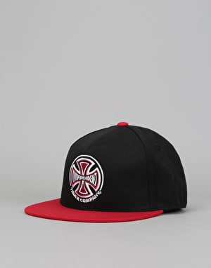 Independent Truck Co Snapback Cap - Black/Red