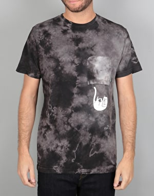 RIPNDIP Falling for Nermal Pocket T-Shirt - Black Wash