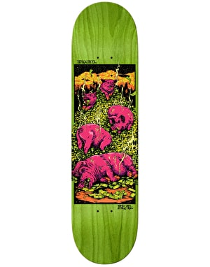 Real Brockel Pigs in Zen Skateboard Deck - 8.5