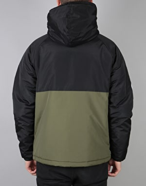 The Hundreds Dell 2 Puffer Anorak - Black