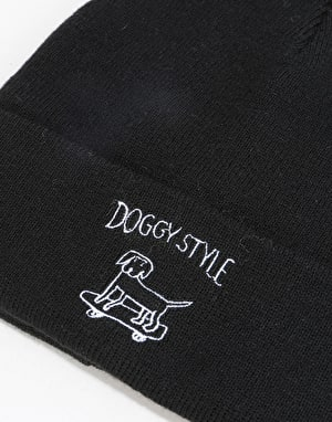 Route One Doggy Style Beanie - Black