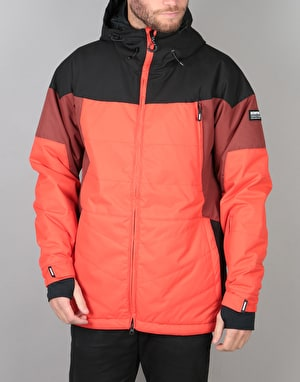 Bonfire Command Gold Collection 2018 Snowboard Jacket - Fire/Maroon
