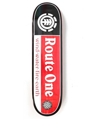 Element x Route One Section SMU Exclusive Skateboard Deck - 8