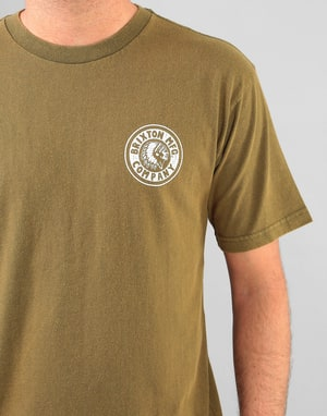 Brixton Rival T-Shirt - Olive