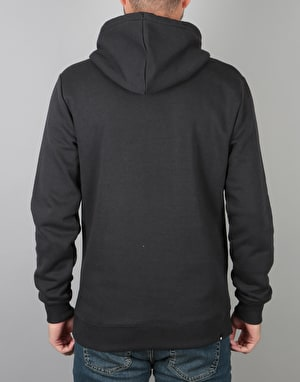 DC Square Boxing Pullover Hoodie - Black