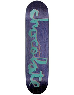 Chocolate Alvarez Original Chunk Skateboard Deck - 8