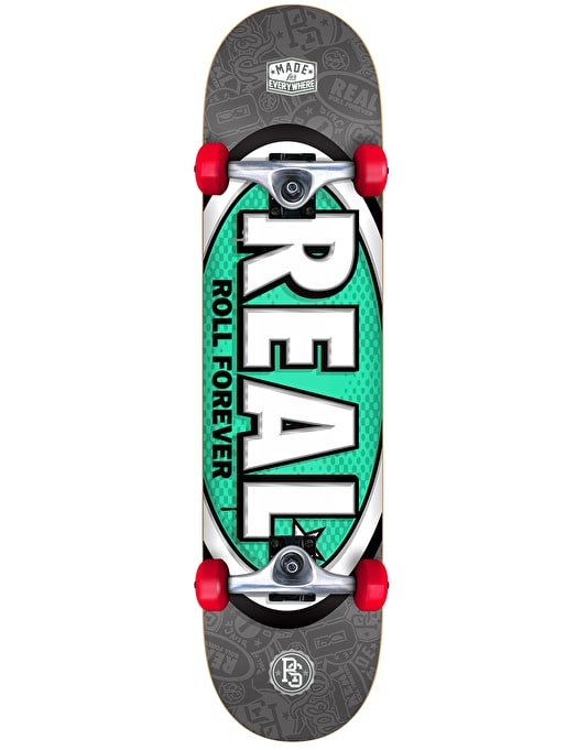 Real Oval Tones Complete Skateboard - 8""