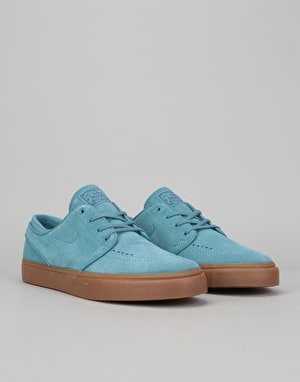 Nike SB Zoom Stefan Janoski Skate Shoes - Noise Aqua/Thunder Blue