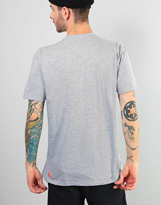 Independent Barbee Cross T-Shirt - Athletic Heather