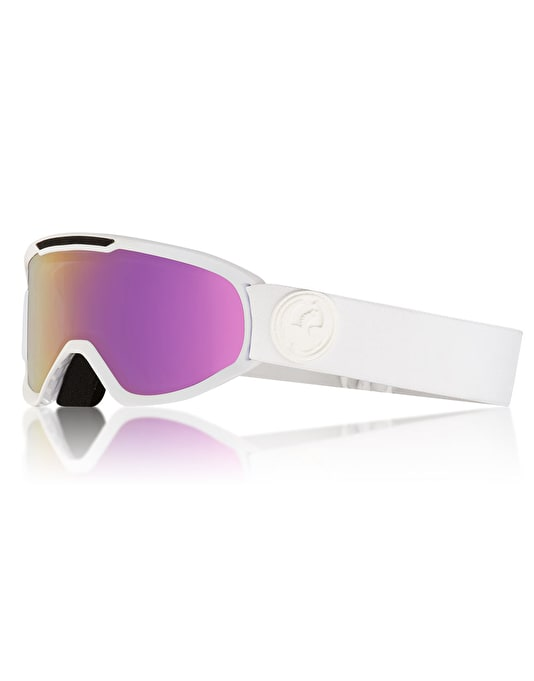 Dragon DX2 2018 Snowboard Goggles - Whiteout/LUMALENS® Pink Ion
