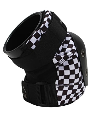 Pro-Tec Street Knee Pads - Black/White Checker