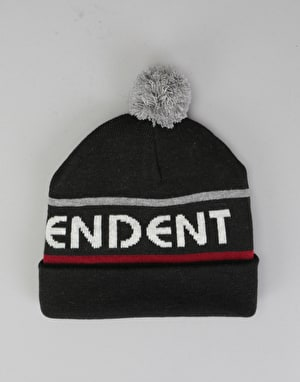 Independent Indy Strip Beanie - Black