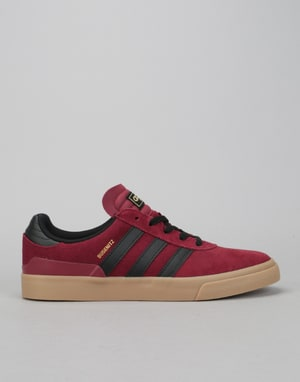 Adidas Busenitz Vulc Skate Shoes - Collegiate Burgundy/Core Black/Gum