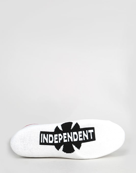 Independent OGBC Low Socks - White