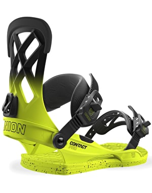 Union Contact Pro 2018 Snowboard Bindings - Volt Yellow